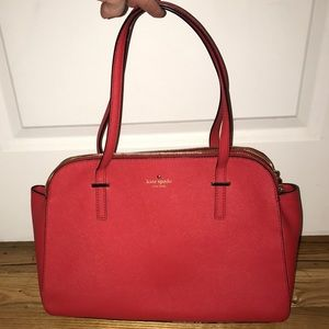 Kate Spade Red Medium Bag